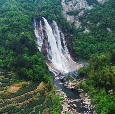 壁纸 风景 旅游 瀑布 山水 桌面 400_398